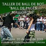 "20 de juny – Taller de ball de Bot – ""Ball de pagès mallorquí"" – Jota, bolero i fandango"