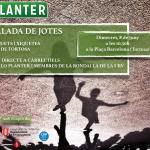 Lo Planter organitza una ballada de jotes amb més de 80 xiquets i xiquetes