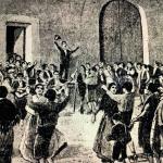 20 de gener – Per Sant Antoni, ballada al Mercat de Tortosa