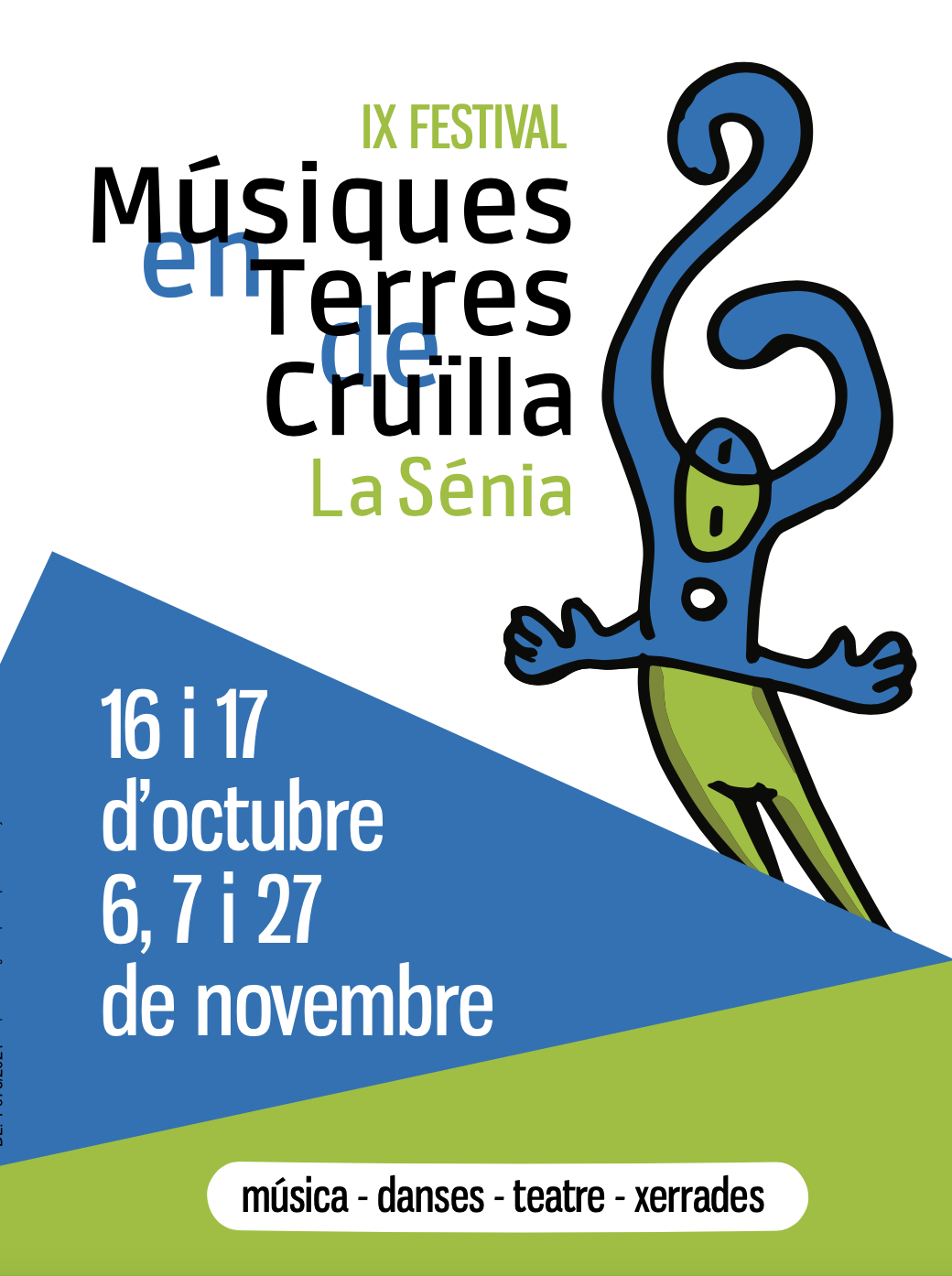17 d'octubre – Festival Músiques en Terres de Cruïlla de La Sénia