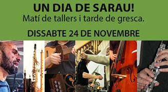 24 de novembre – Un dia de sarau!